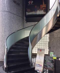 カジノスクールへの道8 らせん階段