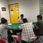 ポーカー体験の画像です