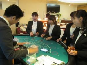 懇親パーティでのカジノゲーム