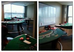 カジノの研修室の写真