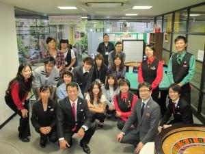 日本カジノスクール新入生