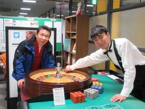 噂の東京マガジン山口良一さんが日本カジノスクールへ