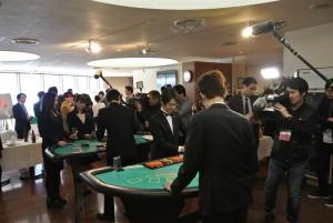 日本カジノスクールパーティ