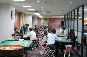 日本カジノスクール授業風景