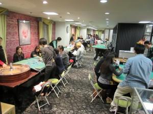 日本カジノスクール実習室初日