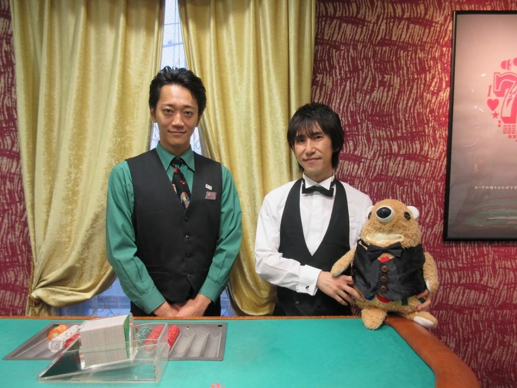 平川大輔さんと日本カジノスクール講師