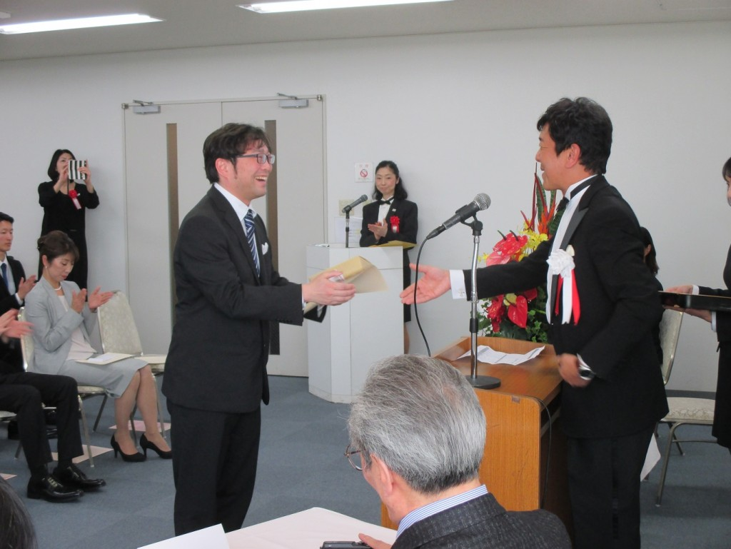 日本カジノスクール最優秀学生賞
